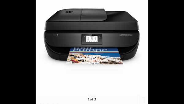 HP OfficeJet 4650 Wireless All-in-One Photo Printer with Mobile Printing,  HP Instant Ink