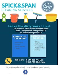 House cleaning Milton