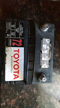 black and gray car battery Mississauga, L5E 1W5