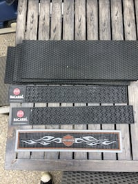 black and gray metal tool chest Calgary, T3M 0T2