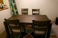 Table and chairs 368 mi