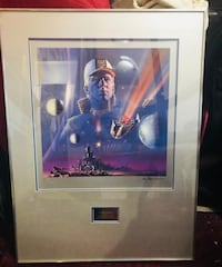 Jettero heller / l. ron hubbard's mission earth painting by gary meyer (negotiable)  Burbank, 91505