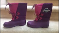 girls size 3 snowmaster outdoors water proof winter boots for $30  please email if interested