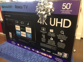 Sharp Roku UHD TV 50""