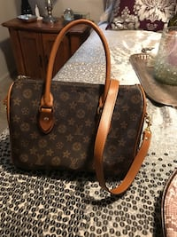 brown and black Louis Vuitton Monogram leather 2-way bag Bedford, 24523