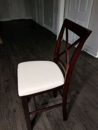 Four brown bar height stools  Vaughan, L4K 5S8