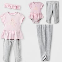 NWT baby girls size 12 months 3 piece outfit Plano, 75093