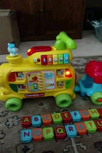 VTech alphabet train sit-to-stand