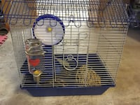 White and blue small animal  pet cage Markham, L3P 6N6