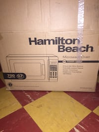 Hamilton beach microwave oven box Washington, 20019