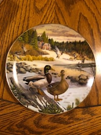 "The Mallard"" Bradex Collectors Plate by Edwin Knowles Dallas, 75234"