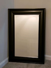 **Dark Brown Beveled Edge Mirror** Centreville, 20120