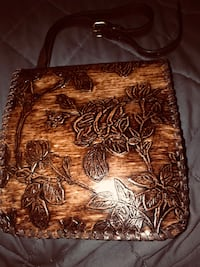 GORGEOUS LEATHER TOOLED AND EMBOSSED PATRICIA NASH CROSSBODY BAG West Sacramento, 95691
