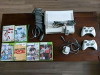 Xbox 360 w/ games and controllers Jersey City, 07302