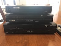 black Sony DVD player with remote Barrie
