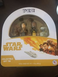 Star Wars pez collectable tin