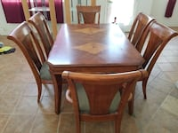 brown wooden dining table set Las Vegas, 89131