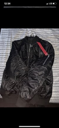 Bomber jacket size large