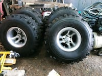 """36"""" Super Swampers on 15"""" Ultra Aluminum Wheels Vancouver, 98661"""