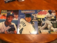 Ken Griffey Jr Seattle Mariners Program and Magazines Phoenix, 85044
