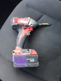 Red and black milwaukee cordless drill Chicago, 60638