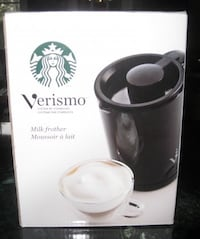 Brand New! - Starbucks Verismo Milk Frother Toronto