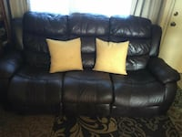 3 seat leather recliner Castroville, 95012