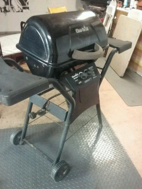 Used Black And Gray Awesome Bbq Grill One Burner I For In San Jose