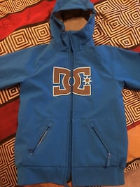 Blue DC zip-up jacket