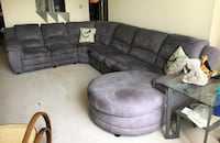 Couch set with sleeper, recliner, chaise - Pickup August 25th Arlington