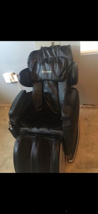black leather padded rolling armchair 2291 mi