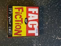 Fact or Fiction board game El Paso, 79912