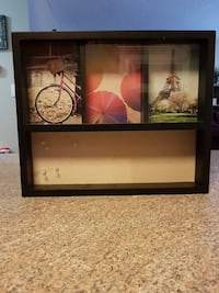 black wooden photo collage frame St. Albert, T8N 3Y2