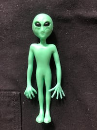 Rubber Alien figure