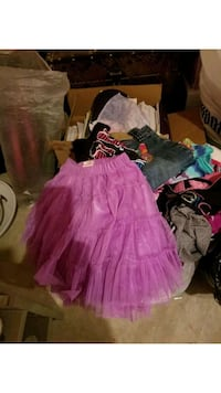 3 and 1/2 bags  girls clothes 60 for all 20 each   Edmonton, T5S 0J9