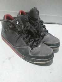 pair of black Air Jordan basketball shoes size 10 Toronto, M1P 1G5