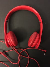 Monster Dr.Dre Beats Red Solo HDs