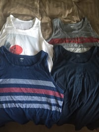 Large muscle shirts 4 for $5