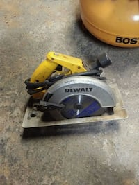 yellow and gray DeWalt circular saw Winchester, 22603