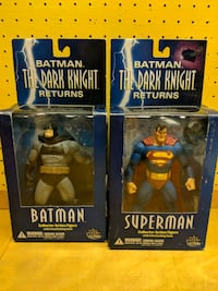 Batman and Superman figures Milton, L9T 3G4