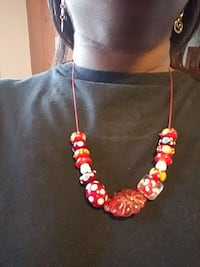 red beaded necklace Cleveland, 44119