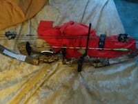 red and black compound bow Conneaut Lake, 16316