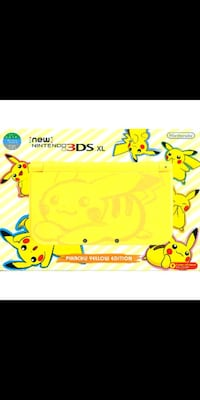 New Nintendo 3DS XL Pikachu edition Franklin, 45005