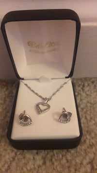 Sterling silver heart set Concord, 28027