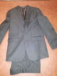 Boys Black Pinned Stripped Suit - Size 10 Chicago, 60609