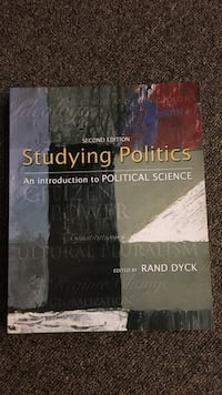 Studying Politics second edition book by Rand Dyck