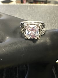 """SILPADA R0981 """" UPTOWN """" CZ ring .925 Sterling Silver - Authentic!!  Roanoke, 24012"""