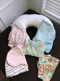 Boppy pillow and covers  Haymarket, 20169