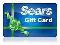 $200 Sears Gift Card  WASHINGTON