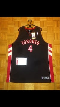 AUTOGRAPHED TORONTO RAPTORS CHRIS BOSH LOCKER JERSEY WITH COA FOR SALE! Mississauga